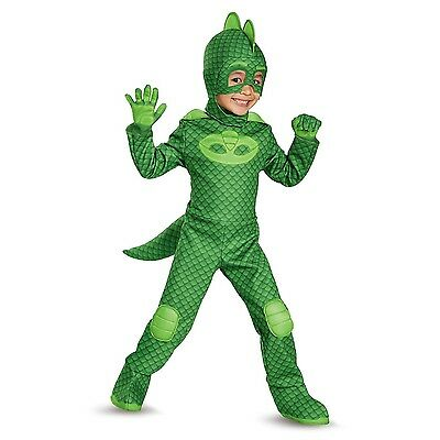 PJ Masks Gekko Deluxe Toddler Child Glow In The Dark Costume | Disguise 17166
