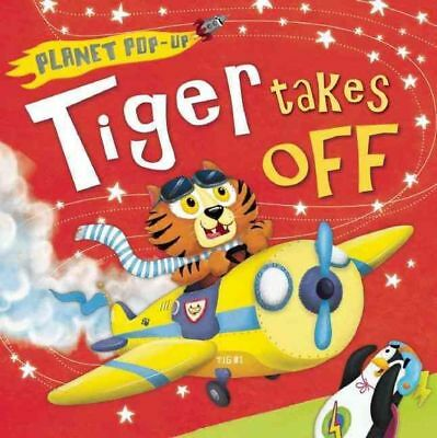 Planet Pop-Up: Tiger Takes Off by Jonathan Litton Hardcover Book (English)