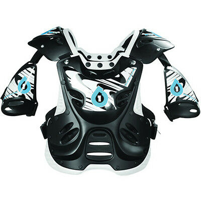 SIXSIXONE SIX SIX ONE chest protector black MTB BMX ATV MX off road adult Large