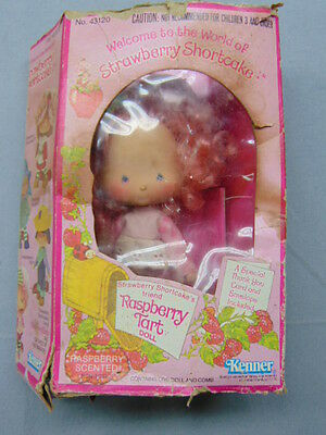 Vintage Strawberry Shortcake * RASBERRY TART * Excellent w/ Box
