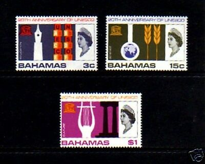 Bahamas - 1966 - Qe Ii - Unesco - Education - Mint - Mnh  Set!