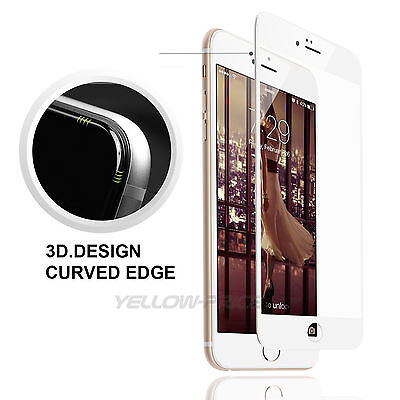 Full Curved 3D Tempered Glass 9H Screen Protector for iPhone 6/6s/plus(4.7 /5.5)