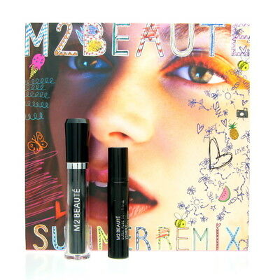 M2 Beaute Summerremix Set Lashes Eyelash Activating Serum 5 ml + UPS 10 ml NEU