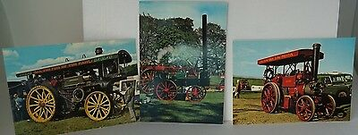 E.T.W. Dennis x 8  Traction Engine Postcards ALL IN MINT CONDITION