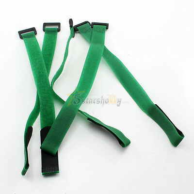 300mm Velcro Battery Strap Reusable Cable Tie Wrap for RC Model