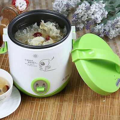 1.2L Pro Electric Mini Rice Cooker Heating Student Lunch Box Multi-function Pot