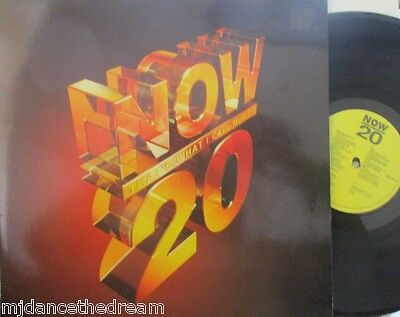 NOW THATS WHAT I CALL MUSIC 20 ~ Various ~ GATEFOLD 2 x VINYL LP {1991}