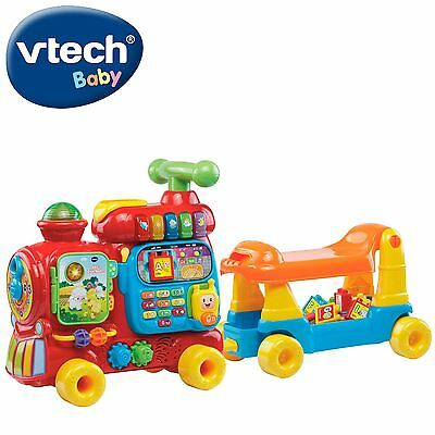 Vtech Baby Push & Ride Alphabet Train 4 in 1 Interactive Educational Walker Toy