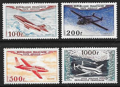 France 1954 Air Stamps SG 1194-1197 (MNH)