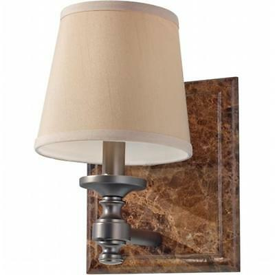 Feiss VS34001-PORB Carrollton 1 Light Plated Bronze Wall Sconce-Pack of 2