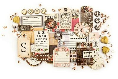 Prima Marketing Inc: Rossibelle Collection: Chipboard & More