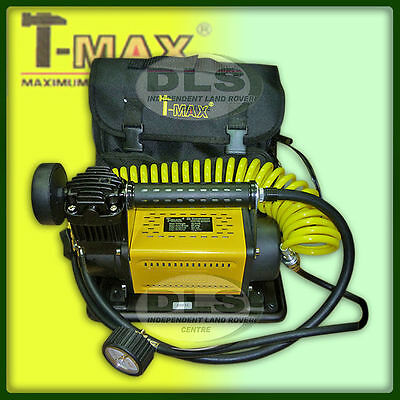 "LAND ROVER - ""T-MAX"" 12volt Portable Air Compressor (BA2641)"
