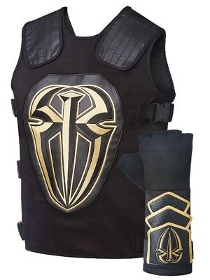 Roman Reigns Tactical Replica Vest Superman Punch Glove Costume-Gold
