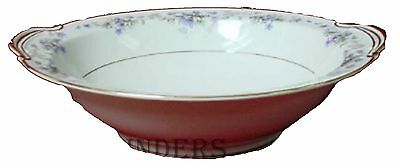 NORITAKE china VIOLETTE pattern # 3054 Round Vegetable Serving Bowl @ 10 5/8""