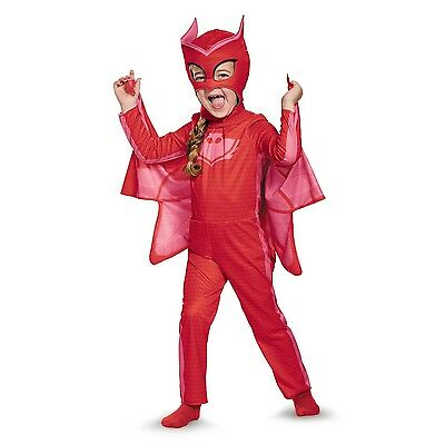 PJ Masks Owlette Classic Toddler Child Costume | Disguise 17156