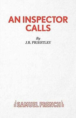An Inspector Calls (Acting Edition) by Priestley, J.B. Paperback Book The Cheap