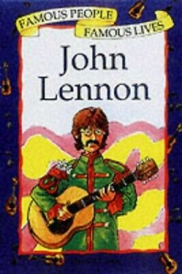 John Lennon (Famous People Famous Lives) by Harriet Castor Paperback Book The