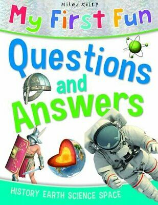 My First Fun Questions and Answers by Miles Kelly Book The Cheap Fast Free Post