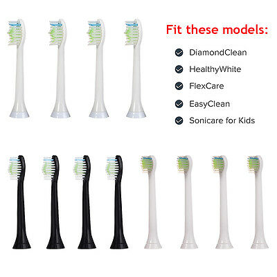 Premium Standard Replacement Toothbrush Heads for Philips Sonicare Brush Handles
