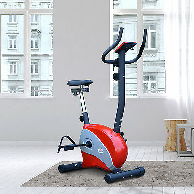 Upright Cycling Magnetic Exercise Bike Fitness Trainer Indoor Workout Home Gym