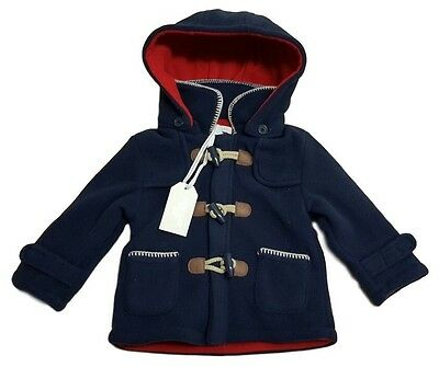 Baby Boys Duffle Coat Jacket Paddington Bear Hooded ZipZap Boutique Winter Warm