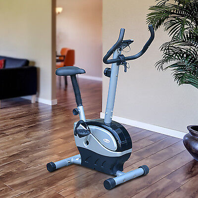 Upright Magnetic Exercise Bike Cycling Trainer Indoor Cardio Health Fitness Gym