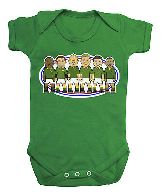 VIPwees Babygrow South Africa Rugby Legends Boys & Girls Baby Bodysuit