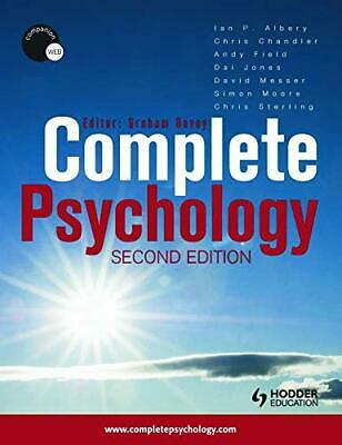 Complete Psychology, Andy Field Paperback Book The Cheap Fast Free Post