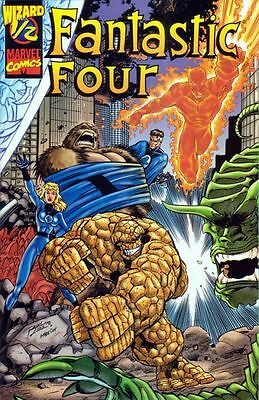 Fantastic Four #1/2 Wizard Mail Away With Coa Vf/nm