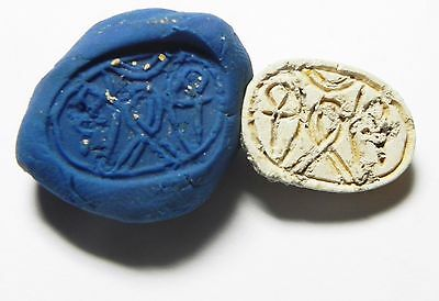 Zurqieh -Af643- Ancient Egypt ,2Nd Intermediate Stone Scarab. 1782 - 1570 B.c