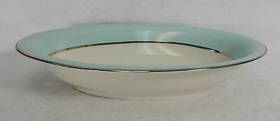 SHENANGO china DIANA Single Verge pattern Oval Vegetable Serving Bowl @ 10""
