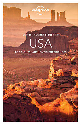 Lonely Planet's Best Of Usa - Brand New Paperback 9781743218662