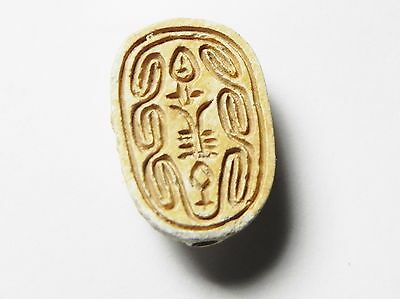 Zurqieh -Af672- Ancient Egypt ,2Nd Intermediate Stone Scarab. 1782 - 1570 B.c