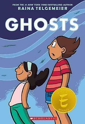 Ghosts by Raina Telgemeier (English) Paperback Book Free Shipping!