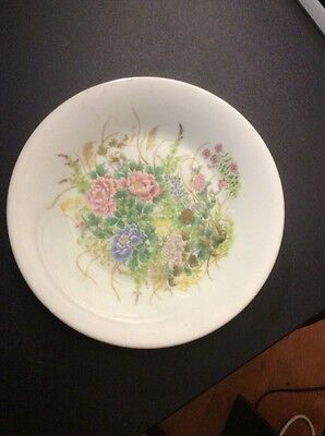 Vintage estate Collectible 7in Made In Japan Plate Lovely Design Floral