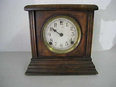 Antique Sessions 1928 E.N. Welch Manufacturing Co. Wooden Clock Pendulum Vintage