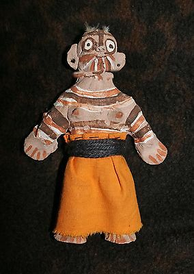 "Rare & Unusual Yuma or Cocopah Mojave Style Pottery Female Doll Figure 6""h"