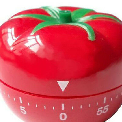 Food Home  Baking Kitchen Cooking Countdown Timer Alarm Mechanical Tomato New 1x