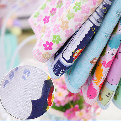 50*70cm Baby Soft Absorbent Cotton Urine Mat Waterproof Changing Pad Lovely