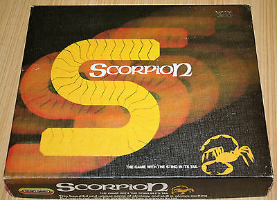 Scorpion The Game With The Sting In Its Tail - Spear's Games 1983