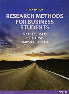Research Methods for Business Students by Thornhill, Adrian Book The Cheap Fast