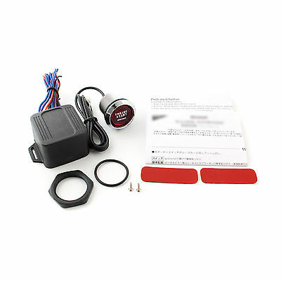 Red Led Engine Start Ignition Button Push/touch Car Start Switch Kit