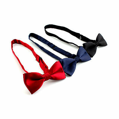 Children Kids Boys Bow Tie Bowties for Wedding Suits Party Fancy Dress Necktie