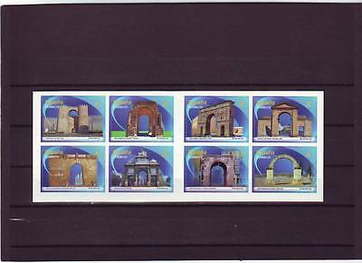 Spain - Sg4743-4750 Mnh 2013 Architecture - Arches & Gates - Booklet
