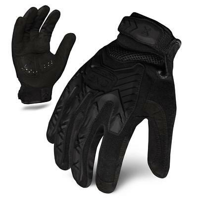 Ironclad EXO Tactical Impact Tactical Operations Gloves, TPR Protection, Black