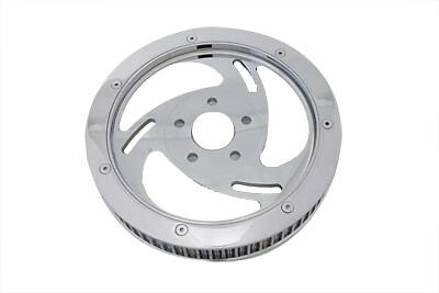 Rear Drive Pulley 65 Tooth Chrome, EA,for Harley Davidson motorcycles,by V-Twin