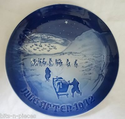 Bing & Grondahl  wall plate 1972  CHRISTMAS IN GREENLAND