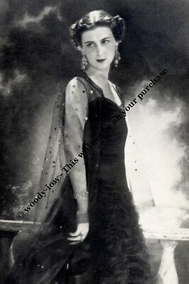 mm728 - Princess Marina Duchess of Kent - Royalty photo 6x4""