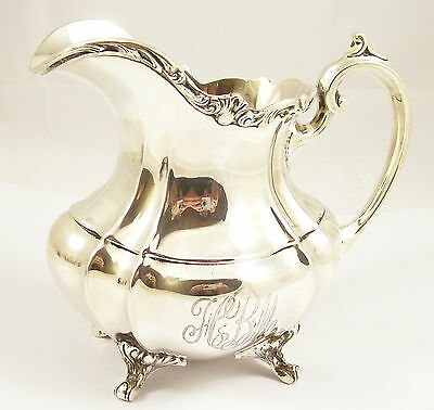 Vintage Sterling Silver Creamer, Hampton Court, Reed & Barton