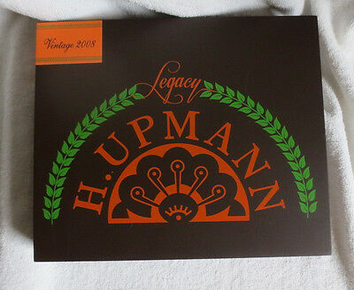 H. Upmann Legacy Vintage 2008 Churchill Wood Cigar Box - Brown  - Beautiful !!!